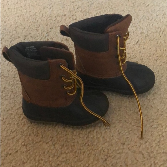 "GAP Other - Toddler Boys Gap ""Duck"" Boots - Size 5/6"